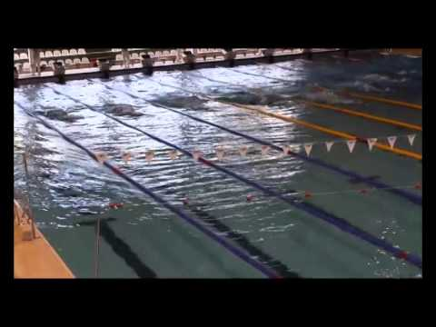 MEN 100m sf Finswimming Turkish Championships 2014