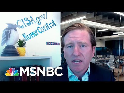 Cyber Security Chief: 'We Are More Resilient, More Prepared' For This Election   Katy Tur   MSNBC