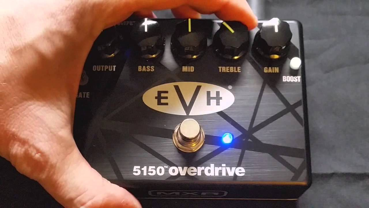 evh 5150 overdrive pedal review demo youtube. Black Bedroom Furniture Sets. Home Design Ideas