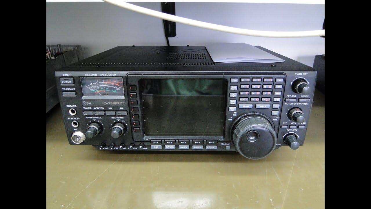 ALPHA TELECOM: ICOM IC-756PROII COM POTÊNCIA ALTERADA E AUTO OSCILAÇÃO EM 50Mhz