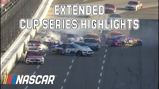Big pileup, hot tempers and a two-time winner in 2021: Martinsville Extended Highlights