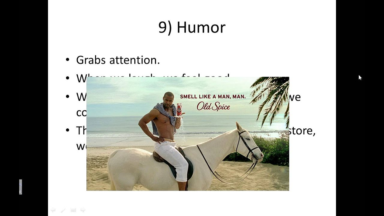 humor persuasion In the following paper i will detail the effectiveness of humor in persuasion more importantly i will describe the effectiveness of humor and the risks associated when attempting to use humor in advertisement.