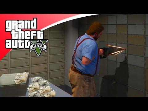 GTA V Modded Freeroam - BANK OVERVALLEN! (GTA 5 Online)