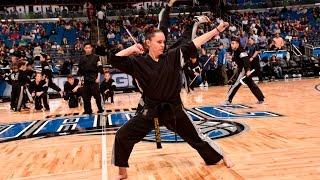 12/16/2016 Orlando Magic Halftime Show Victory Team X-Treme Demo ATA