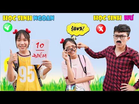 Học Sinh Ngoan & Học Sinh Hư ♥ Min Min TV Minh Khoa