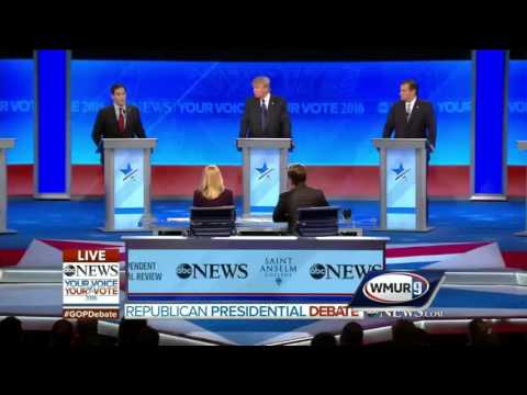 2016 GOP Debate: Marco Rubio on whether he would visit a mosque as president