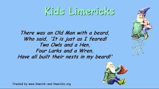 ♣☺ Kids Limericks - Example Limerick Poems ♣☺