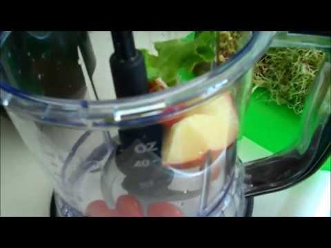 NINJA MASTER PREP PRO - Making A GREEN DRINK TWO