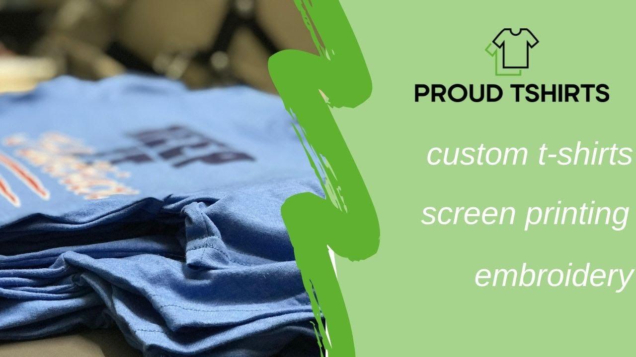PROUD TSHIRTS | custom t-shirts | screen printing | Embroidery | Miami