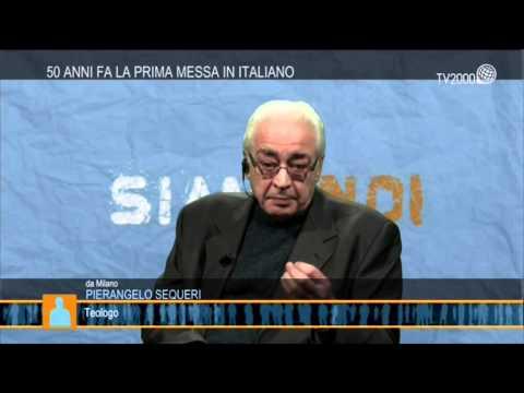 """""""Siamo Noi"""" - Mons. Pierangelo Sequeri, Preside Della Facoltà Teologica Dell'Italia Settentrionale"""