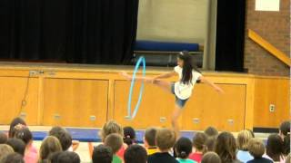 What makes you beautiful-Diya hula hoop dance- school talent show
