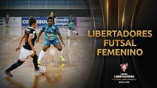 INDEPENDIENTE (COL) 1-4 CIANORTE (BRA)| CONMEBOL Libertadores de Futsal Feminino
