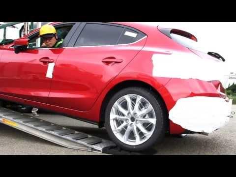 Mazda Route3 - Hiroshima-Frankfurt adventure