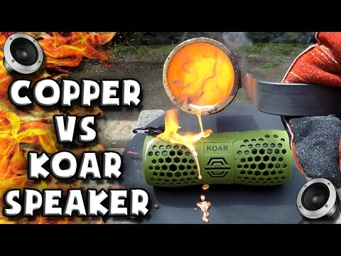 Molten Copper vs Koar beBOX Speaker