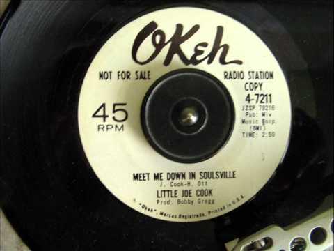LITTLE JOE COOK - MEET ME DOWN IN SOULSVILLE