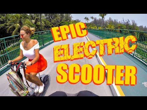 EXPLORING SINGAPORE ON ELECTRIC SCOOTERS ❲VLOG 52❳