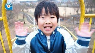 萩原公園で遊びました【がっちゃんの公園へ行こう!シリーズ】千葉県印西市
