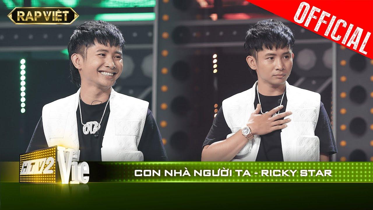 Đi đường quyền cực mượt, Ricky Star biến Con Nhà Người Ta thành hit siêu hay | RAP VIỆT [Live Stage]