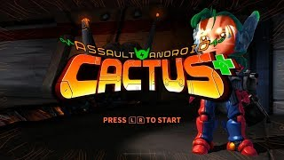 Assault Android Cactus+ - 45 Minute Playthrough [Switch]