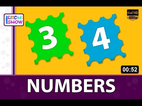 Lets Learn Numbers - Preschool Learning | Learn numbers for kids ...