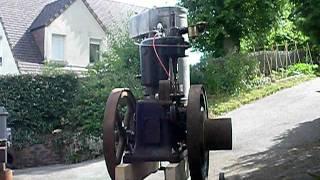 ancien moteur fixe japy type M