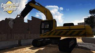 Construction Simulator 2016 - DESTROY EVERYTHING