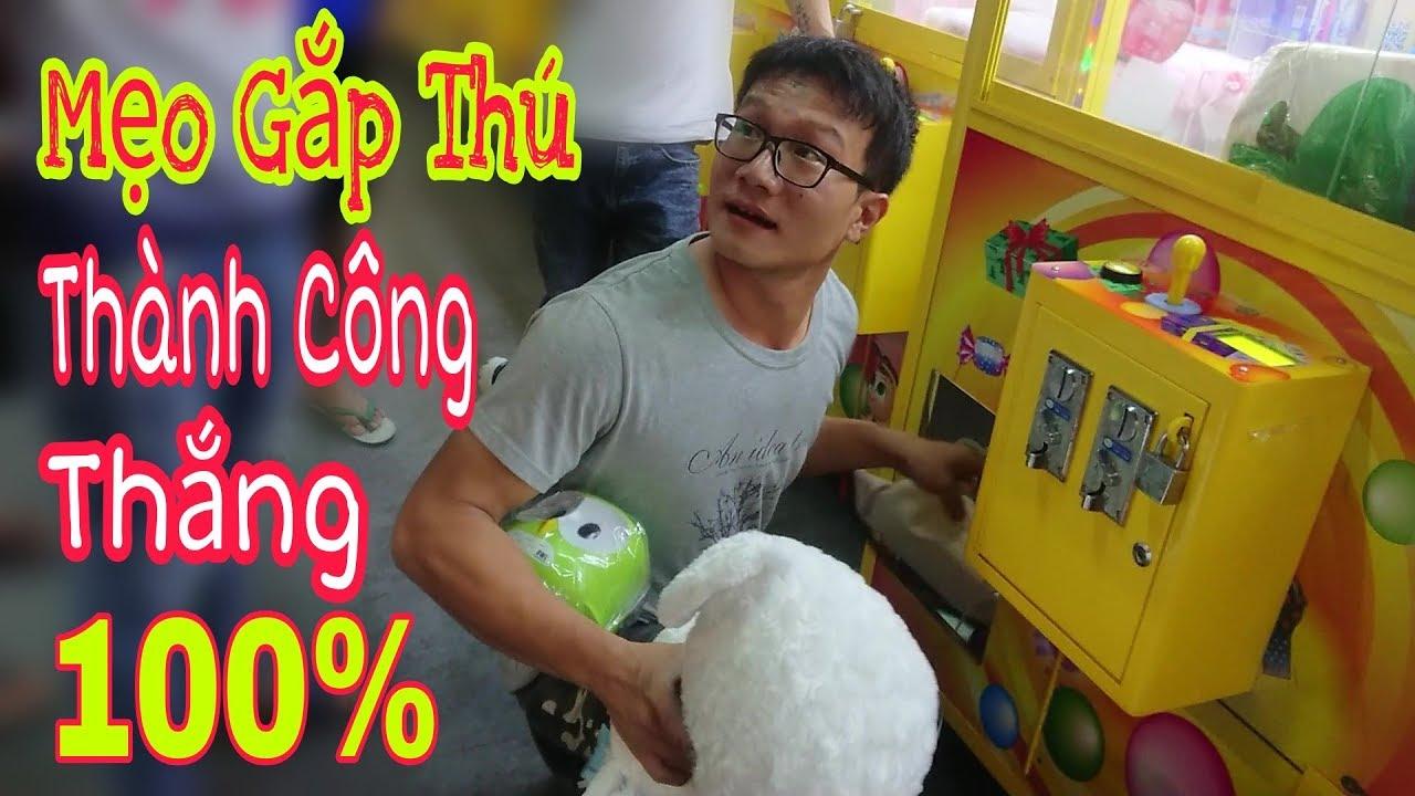 Mẹo Gắp Thú Nhồi Bông – Cao Thủ Đài Loan Gắp Gấu Và Cái Kết Không Tưởng | Việt Đức Vlogs