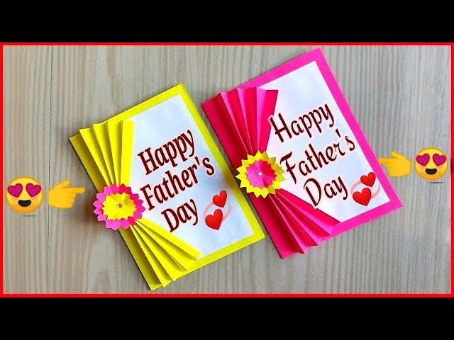 Easy And Beautiful Card For Father S Day Diy Father S Day Cards Father S Day Cards Ideas Youtube