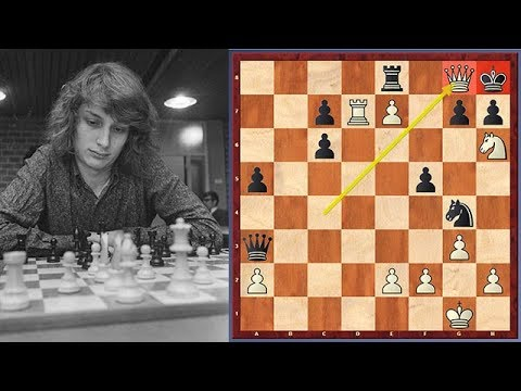 Jan Timman's Most Beautiful Checkmate vs. Nigel Short