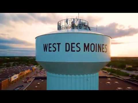 West Des Moines, Iowa: Bird's Eye View