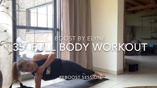 35' real time workout I Full body I Virtual live (old session) I Reboost
