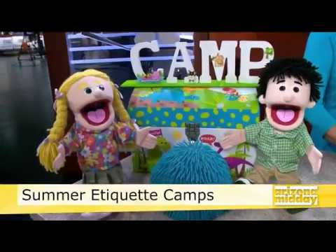Etiquette Summer Camp for Kids & Teens, Arizona Midday, Channel 12 Phoenix