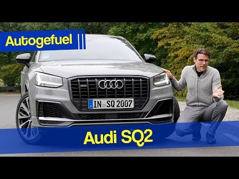 Audi SQ2 REVIEW with Autobahn and Launch Control - better than the S3?  Autogefuel