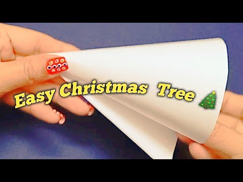 DIY Christmas Tree/Easy Christmas Decor Ideas-Shamina's DIY