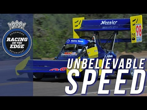 Onboard insanely fast Pikes Peak Hill Climb