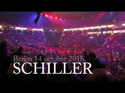SCHILLER 14 octobre 2016 Berlin Mercedes Benz Arena