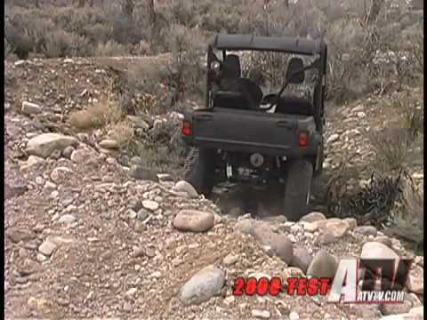 ATV Television Test - 2008 Yamaha Rhino 700 SE