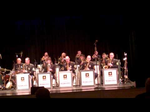 U.S.Army Jazz Ambassadors w/ WHS Jazz Band Mr  Timmons