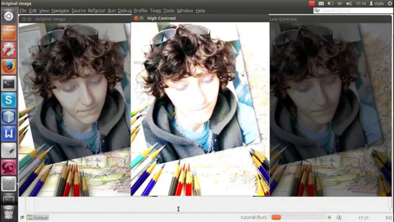 how to change contrast of an image with OpenCV