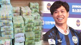 Choa'ng Với Mức Lương Kh,ổ,ng Lô` Của Công Phượng ở CLB Incheon United - TIN TỨC 24H TV