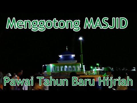 Pawai Menggotong Masjid,Membawa Buraq Dll - Syukuran Tahun Baru Hijriah 1439H di Pangandaran