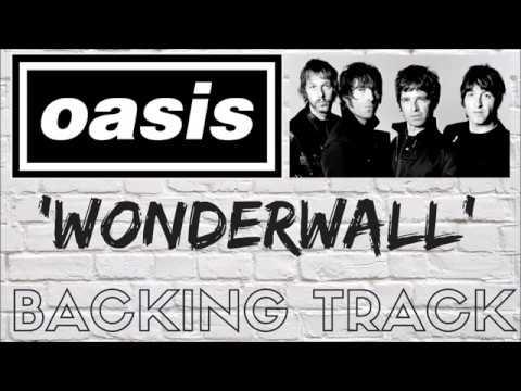 Wonderwall backing track no vocals