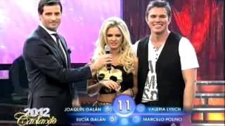 Cantando 2012 - Complicado debut para Alejandra Maglietti