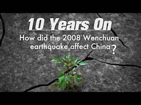 How did the 2008 Wenchuan earthquake affect China?