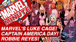 Marvel's Luke Cage! Captain America Day! - The Marvel Minute 2016