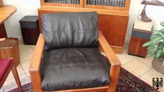 Danish Teak Lounge Chair Restoration