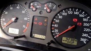 VW Golf IV Service INSP nollaus - Volkswagen Golf 4 service INSP - VW Golf 4 service intervall
