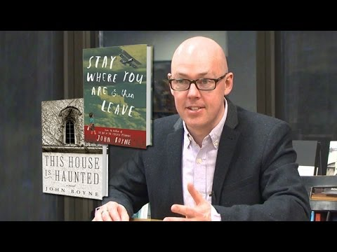 Author John Boyne on Writing for Readers of Every Age