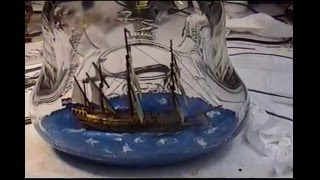 How to build a schip in a bottle