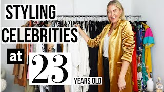 HOW I STYLED CELEBRITIES AT 23 YEARS OLD | Lindsay Albanese